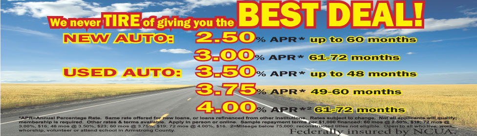 Highway with auto rates