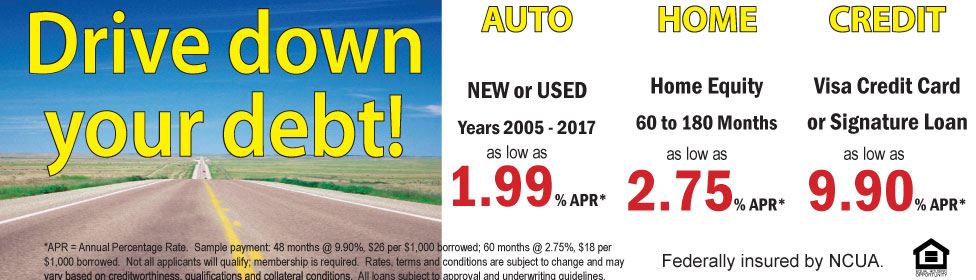 Auto, Home & Loan rates