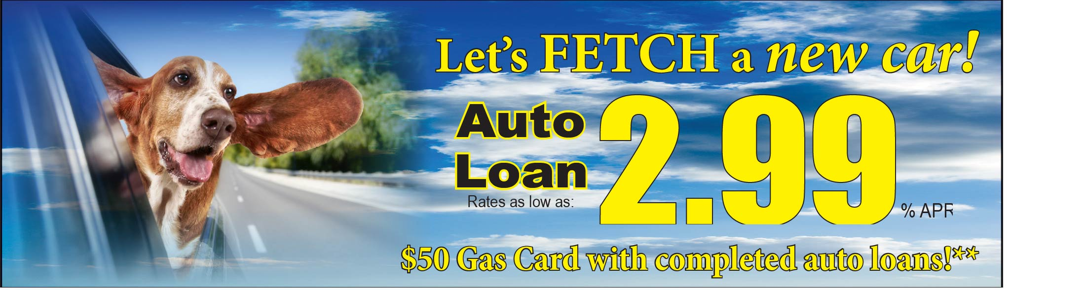 Fetch a great auto loan rate