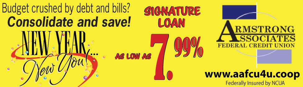 Consolidate bills and save with a 7.99% signature loan